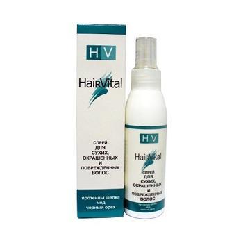 Купить Спрей для сухих, окрашенных и поврежденных волос hair vital