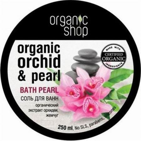 Купить Соль жемчужная для ванн «восточный мотив» organic shop