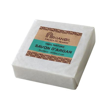 Купить Мыло с арганой и маслом карите вербена-зеленый чай argana