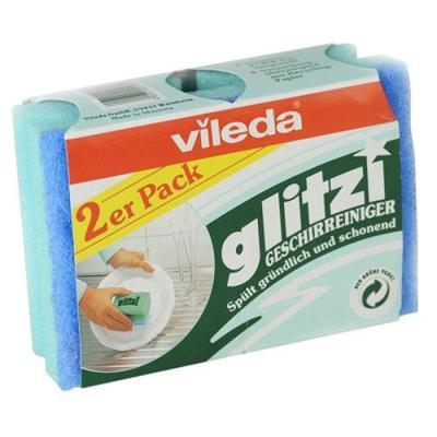 Купить Губка для посуды глитци 2 шт vileda