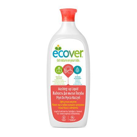 Купить Экологическая жидкость (для мытья посуды) с грейпфрутом и зеленым чаем ecover (1000 мл)