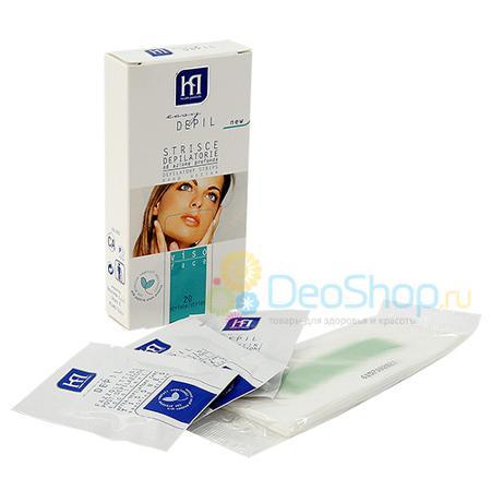 Купить Восковые полоски для лица easy depil