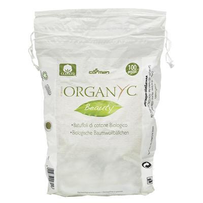 Купить Ватные шарики из органического хлопка organyc