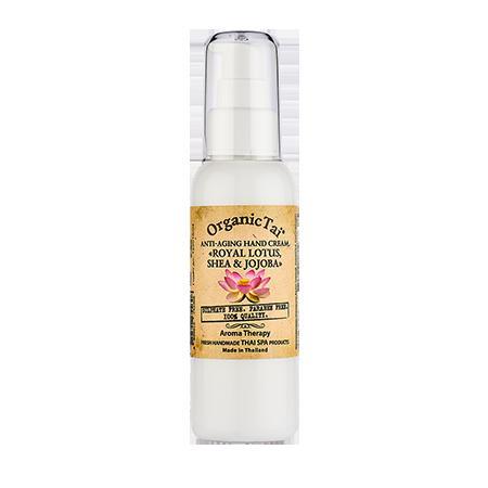 Купить Антивозрастной крем для рук «королевский лотос, ши и жожоба» organic tai