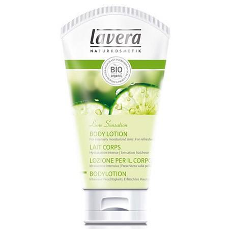 Купить Био-лосьон для тела освежающий лайм/вербена lavera