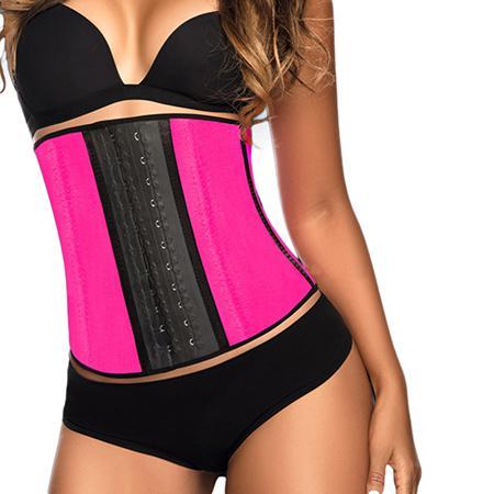 Купить Тренировочный корсет розовый (размер l) waist trainer