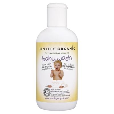 Купить Детское средство для купания с алоэ вера, ромашкой и лавандой  bentley organic