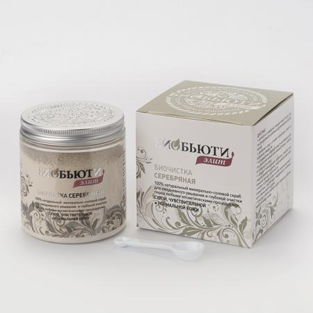 Купить Биочистка серебряная для сухой, чувствительной и нормальной кожи (200 гр) биобьюти
