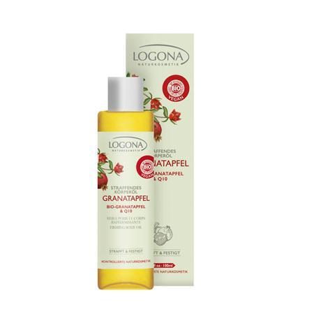 Купить Разглаживающее масло для тела с био-гранатом и q10 logona