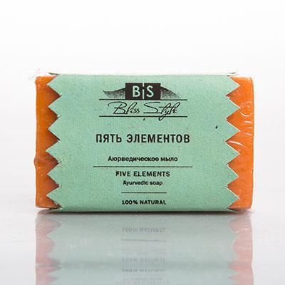Купить Аюрведическое мыло пять элементов амрита