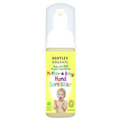 Купить Очиститель для рук для матери и ребенка  bentley organic