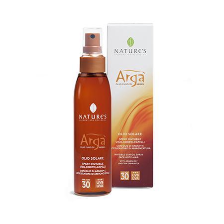 Купить Nature's arga масло для лица и тела spf-30