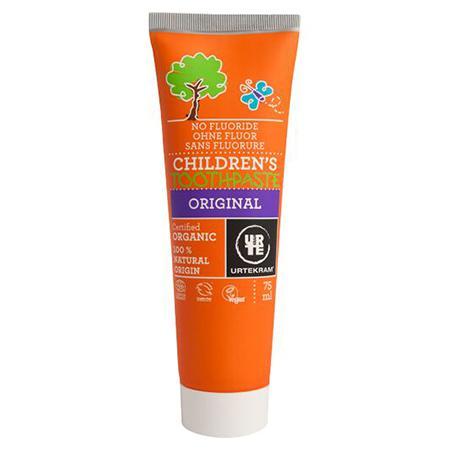 Купить Детская органическая зубная паста urtekram