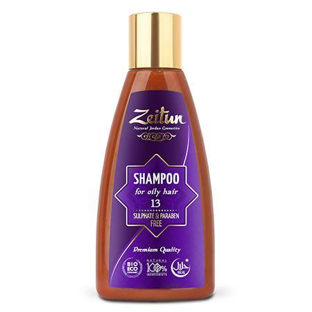 Купить Натуральный шампунь для жирных волос зейтун №13
