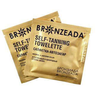 Купить Салфетка-автозагар bronzeada (бронзиада)