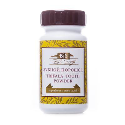 Купить Аюрведический зубной порошок трифала и семь солей амрита
