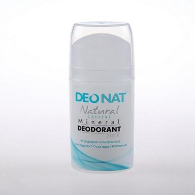 Купить Минеральный дезодорант кристалл чистый стик овал pushup 100 гр deonat