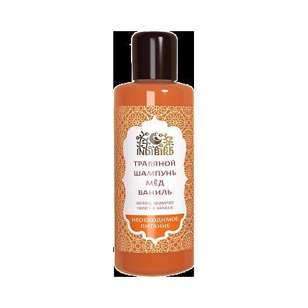 Купить Травяной аюрведический шампунь мед&ваниль для всех типов волос