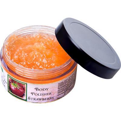 Купить Скраб для тела клубника (body polisher strawberry) амрита