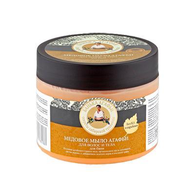 Купить Мыло для волос и тела медовое рецепты бабушки агафьи