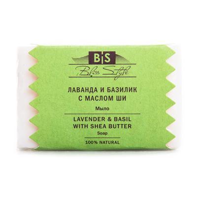 Купить Аюрведическое мыло лаванда базилик с масло ши амрита