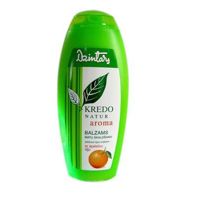 Купить Kredo natur aroma бальзам ополаскиватель с апельсиновым маслом для любого типа волос dzintars