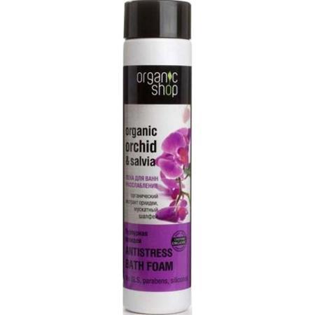 Купить Пена для ванн расслабляющая «пурпурная орхидея» organic shop