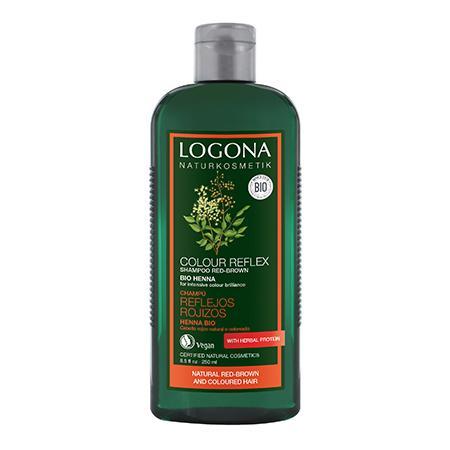 Купить Шампунь для окрашенных волос «хна» logona, 250 мл
