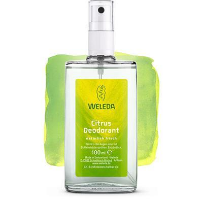 Купить Цитрусовый дезодорант 100 мл weleda