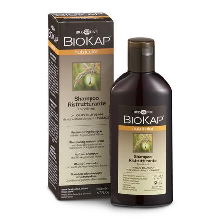 Купить Шампунь восстанавливающий для окрашенных волос biokap nutricolor biosline