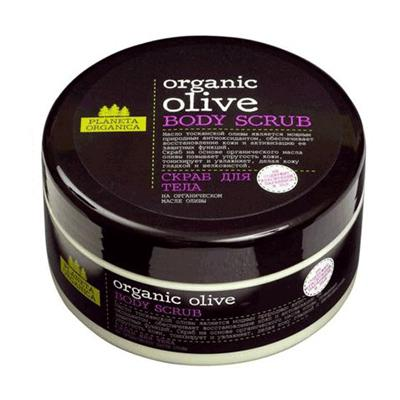 Купить Скраб для тела organic olive planeta organica
