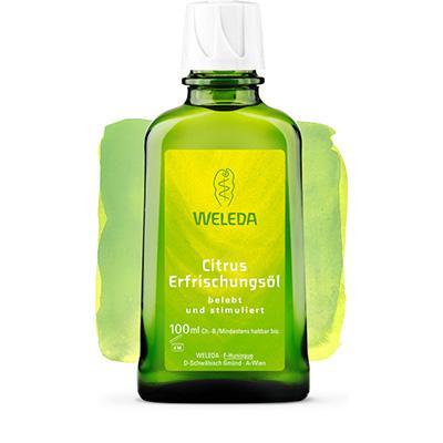Купить Цитрусовое освежающее масло для тела weleda