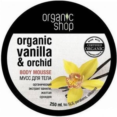 Купить Мусс для тела «бурбонская ваниль» organic shop