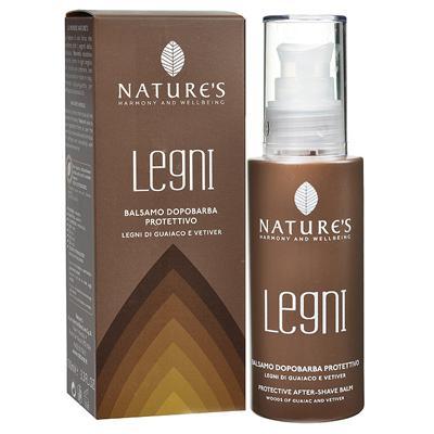 Купить Legni бальзам после бритья защитный с гваяковым деревом и ветивером nature's