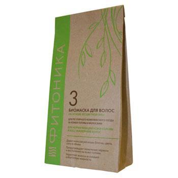Купить Биомаска для волос на основе бесцветной хны фитоника №3