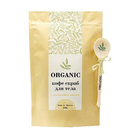 Купить Кофе скраб для тела organic