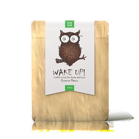 Купить Скраб для лица и тела wake up coffee scrub coconut almea
