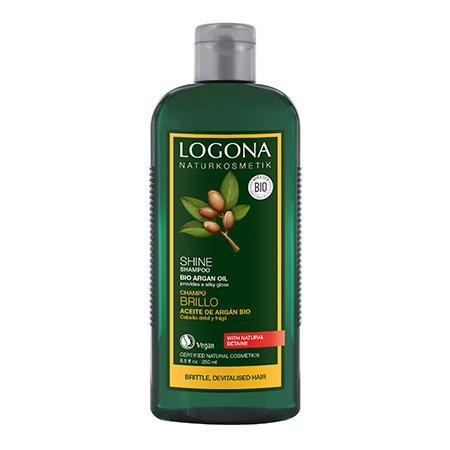 Купить Шампунь для блеска с био-аргановым маслом logona