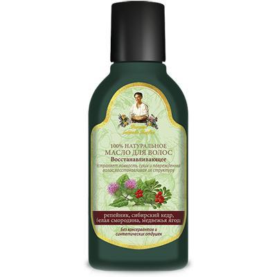 Купить Масло для волос восстанавливающее рецепты бабушки агафьи