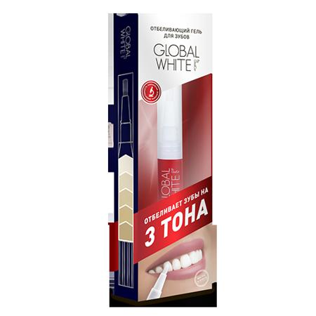 Купить Отбеливающий карандаш-апликатор (гель 6%)  global white