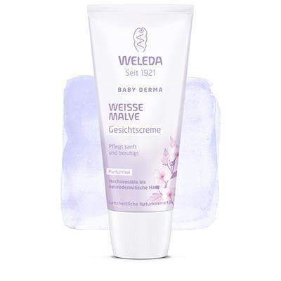 Купить Крем для гиперчувствительной кожи лица с алтеем weleda
