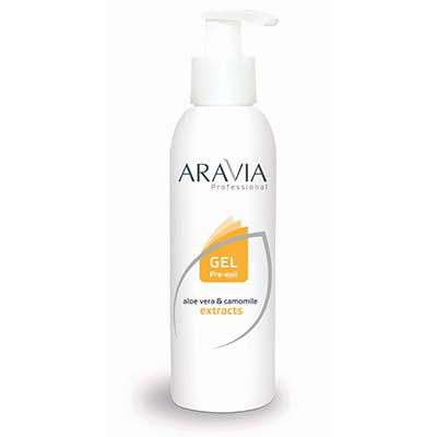 Купить Гель перед депиляцией (для обезжиривания кожи) aravia professional
