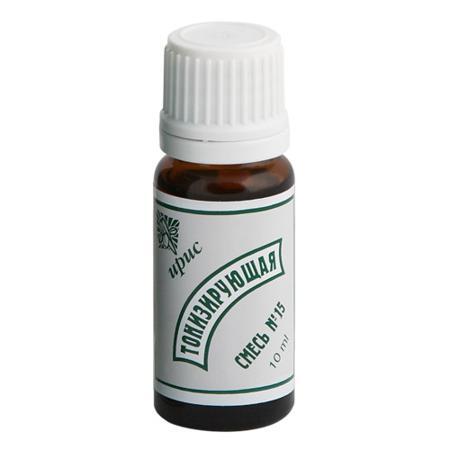 Купить Смесь эфирных масел №15 тонизирующая iris