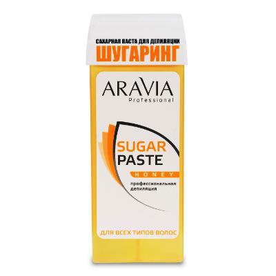 Купить Сахарная паста для депиляции в картридже медовая очень мягкой консистенции aravia professional
