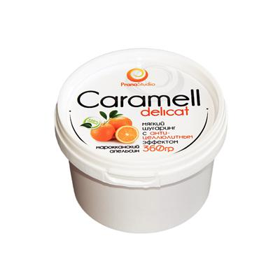 Купить Шугаринг caramell delicat антицеллюлитный (360 гр) pranastudio