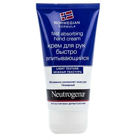 Купить Быстро впитывающийся крем для рук (fast absorbing hand cream) neutrogena