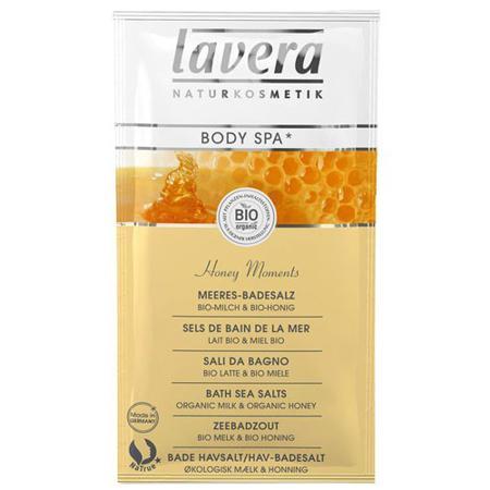 Купить Морская био-соль для ванн «медовые моменты» lavera