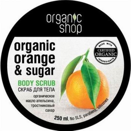 Купить Скраб для тела «сицилийский апельсин» organic shop
