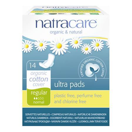 Купить Натуральные женские прокладки ultra pads regular natracare