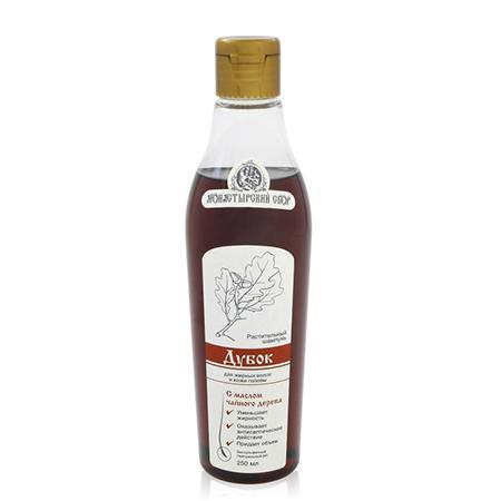 Купить Натуральный шампунь «дубок» для жирных волос клеона